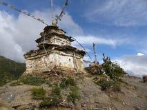 Stony stupa Royalty Free Stock Images