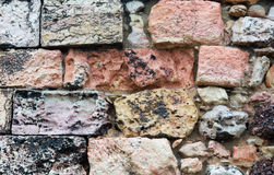 Stony wall background. Stock Image