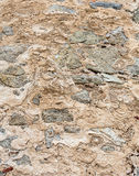 Stony wall background. Royalty Free Stock Photography