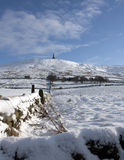 Stoodley Pike Royalty Free Stock Photography