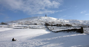 Stoodley Pike Stock Image