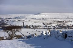 Stoodley Pike Royalty Free Stock Images