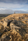 Stoodley Pike Monument, Pennine Way Royalty Free Stock Photo