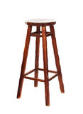 Stool. Chair from a bar. All visitors have left Royalty Free Stock Images