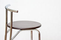 Stool. Over white in the studio Stock Images