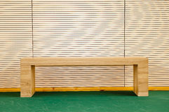 Stool in Badminton hall. The stool in Badminton hall stock image