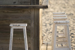 Stool chairs Royalty Free Stock Photos