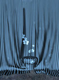 Stool and Curtains Royalty Free Stock Image