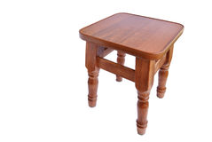Stool little. On a white background Royalty Free Stock Photography