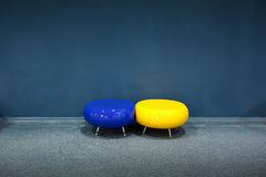 Stool of modern style. This is some stool of modern style in public place Royalty Free Stock Photography