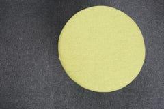 Stool sitting on gray floor. Stock Image