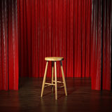Stool on a stage Royalty Free Stock Photography