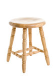 Stool wood Royalty Free Stock Images