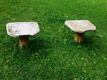The Stools In The Park Stock Images