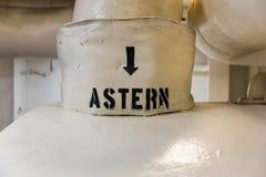 Stoom Astern Pijl Royalty-vrije Stock Foto's