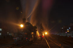 Stoom locomotive02 Stock Foto