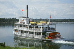 Stoomboot Royalty-vrije Stock Afbeeldingen