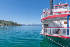 Stoombootmeer Tahoe Royalty-vrije Stock Foto's