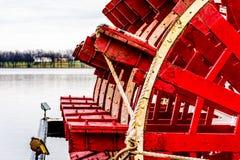 Stoombootpeddel Royalty-vrije Stock Afbeelding