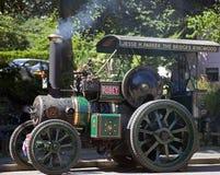 Stoommotor in Burley in het Nieuwe Bos stock foto's