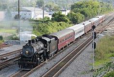 Stoomtrein van Chattanooga, TN aan Summerville, GA royalty-vrije stock fotografie
