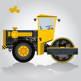 Stoomwals Roadroller Stock Foto