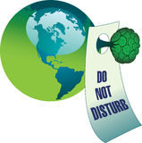 Stoor geen milieu Stock Afbeelding