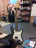 Stootkussen Stratocaster Royalty-vrije Stock Afbeeldingen