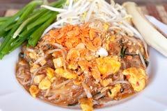 Stootkussen Thai of Phat Thai Stock Foto