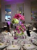 stołowy ślub Zdjęcie Royalty Free