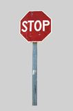 STOP. Sign of prohibition, vehicle ordering held Royalty Free Stock Photo