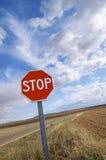 Stop Royalty Free Stock Photos