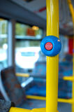 STOP. Button on the bus royalty free stock photos