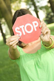 STOP Royalty Free Stock Images