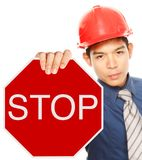 Stop! Royalty Free Stock Photo