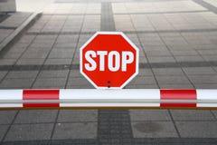 Stop Royalty Free Stock Photo