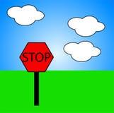 Stop 8 Royalty Free Stock Photo