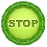 Stop. Stock Photo