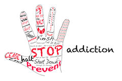 Stop Addiction Stock Images