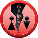 Stop AIDS. Royalty Free Stock Photos