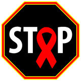 Stop Aids Royalty Free Stock Image