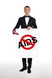 Stop aids Royalty Free Stock Photos