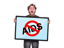Stop aids Royalty Free Stock Photos