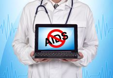 Stop aids Royalty Free Stock Photography