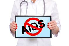 Stop aids Stock Photos