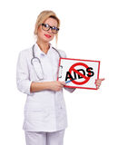 Stop aids Stock Image