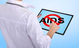 Stop aids symbol Stock Images