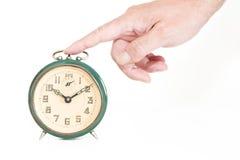Stop Alarm Clock Stock Photography