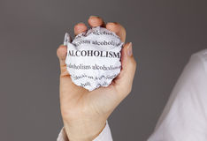 Stop Alcoholism Stock Photo