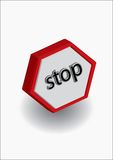 Stop alert Stock Images